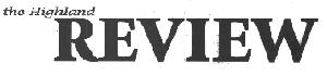 The Highland Review - Riverside, Iowa